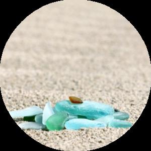 Sea Glass - Round